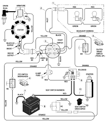 Lawn mower wiring diagram