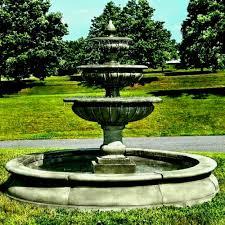 solar powered garden fountains power zen bamboo water feature fountain best and gardens patio