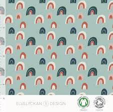 Elvelyckan Design Us This Jersey Fabric Is A Lovely Mix Of 95 Cotton And 5