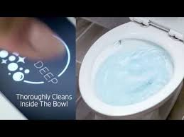 acticlean self cleaning toilet by