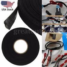 wire harness tape 25mx9mmx0 3mm anti wear adhesive cloth fabric tape cable looms wiring harness us