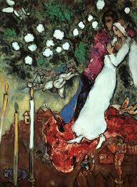 marc chagall wedding image