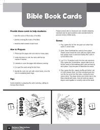 Simple Ways For Kids To Learn The Books Of The Bible