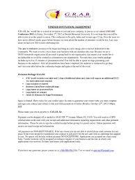 Vendor Invitation Letter Mail Email