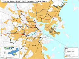 boston area map  my blog