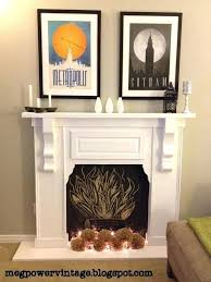 how to build a faux fireplace faux fireplace white my first project projects build faux fireplace