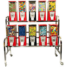 Bulk Vending Machine Candy Gorgeous Buy Eagle 48 Unit Gumball And Candy Bulk Vending Rack Vending