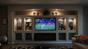 Small Picture Drywall Entertainment Center Walltech Drywall Services