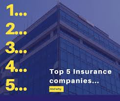 the secret is out here s the top five insurance companies and why we say so