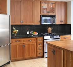 kitchen color ideas with oak cabinets and black appliances. Kitchen Countertop Ideas For Oak Cabinets Design White Black Appliances What Color Backsplash With Grey And