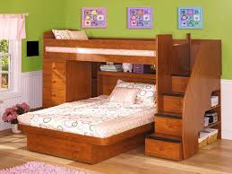 Furniture, L Shaped Loft Beds Level Small Space Bed Children Beds ...