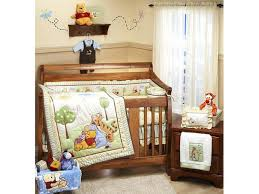 whinnie the pooh baby bedding winnie cot asda
