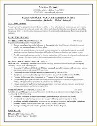 Free Sales Manager Resume Templates Of Salesperson Marketing Cover
