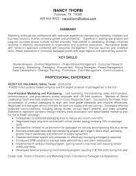 Best Photos Of Marketing Resume Summary Marketing Help With Resume Summary  Of Qualifications