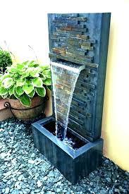modern fountains garden outdoor wall waterfall corner wall fountains garden modern outdoor wall mounted fountains corner