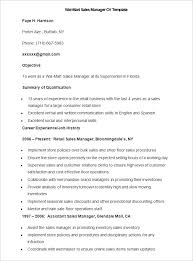 Job Resume Online Sales Resume Template 41 Free Samples Examples Format