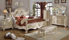 Meridian Bedroom Furniture Monaco Bedroom Set In Rich Antique White By Meridian Furniture