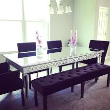 purple dining room set best purple room decor images on mirrored dining table and chairs purple dining room