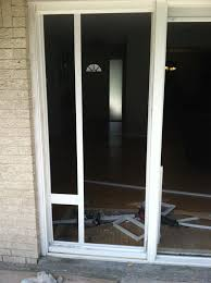 installing a sliding glass dog door and anderson sliding glass doors dog door