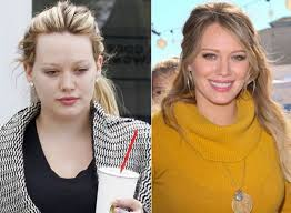 hilary erhard duff without makeup