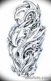 тату на ноге мужские эскизы 09032019 002 Tattoo Sketches