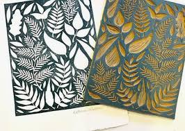 Easy Lino Print Designs Block Printing At The Makery Downtown State College