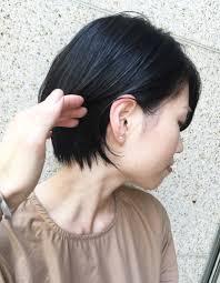 ママさん世代に人気 楽してキマるショートヘアom 96 ヘアカタログ