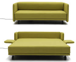 modern furniture for small spaces. Maximizing Small Spaces Using Modern Sleeper Sofa Queen With Green Fabric Cover And Fold Out Bed Wheels Ideas Furniture For A