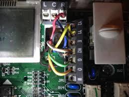 replacing a goodman janitrol hpt 18 60 thermostat page 2 replacing janitrol thermostat with honeywell at Janitrol Hpt18 60 Thermostat Wiring Diagram