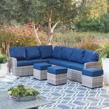 belham living meridian round outdoor wicker patio furniture set logo belham living oliver square seat