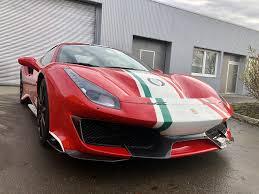 Ferrari 488 Pista Piloti Sievers Performance