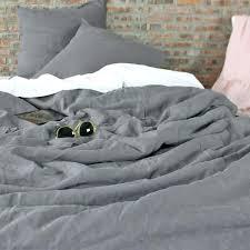 stonewashed linen duvet cover lead gray set grey ikea linen bedding duvet set yorkshire sets covers