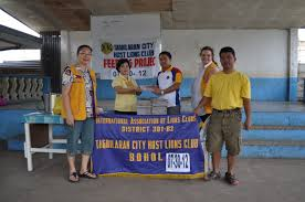 Arts/Crafts Supplies to Booy South Elementary 2012-Jul-30 - Tagbilaran City  Host Lions Club