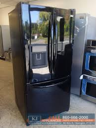 kenmore black refrigerator. kj brands - kenmore elite 22 cu. ft. french door bottom freezer refrigerator ( black u