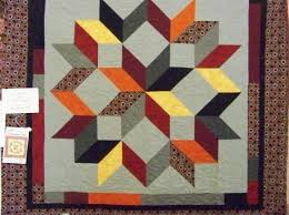 48 best Quilts Country Living Quilts Likes images on Pinterest ... & Carpenter's Star by Calico Carriage Quilt Designs. Quilt size is Great with  fat quarters. Adamdwight.com