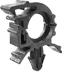 amazon com 50 wiring harness clips 9mm x 37mm gm 12160857 wiring harness retaining clips at Wiring Harness Retainers