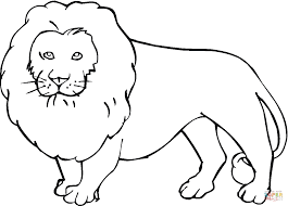 Small Picture Lion coloring page Free Printable Coloring Pages