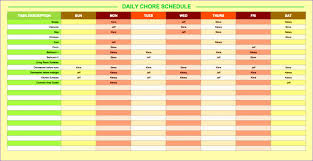 Daily Timetable 24 Daily Timetable Template Excel ExcelTemplates ExcelTemplates 1