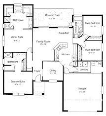 simple 3 bedroom house plans pdf designs