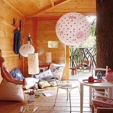 Kids treehouse inside Indoor Interior Decorating For Kids Treehouse Pinterest Fabulous Kids Treehouse Design Beautifully Integrated Into Backyard