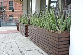 fake outdoor bushes contemporary artificial plants planters