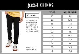 Ccs Clipper Slim Fit Chino Pants