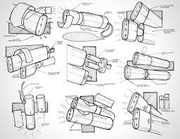 Flashlight Design Concepts Heavy_flashlight_02 Industrial Design Sketch Flashlight
