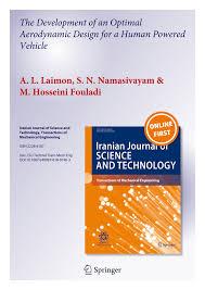Road Vehicle Aerodynamic Design Rh Barnard Pdf The Development Of An Optimal Aerodynamic Design For A