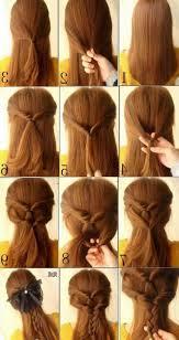 Simple Up Hairstyles For Long Hair Fresh 101 Cute Easy Bun