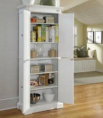 free standing kitchen pantry. Incredible Standing Kitchen Pantries Cabinets Oors Free Pantry In White Finish Cabinet E