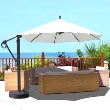 galtech aluminum 11 cantilever offset patio umbrella with sunbrella cantilever umbrella sunbrella sunbrella cantilever umbrella costco