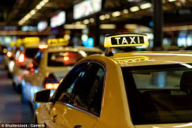 Taxi drivers have higher risk of violent death at work | Daily Mail ...