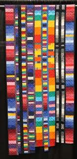 26 best for Jennie images on Pinterest | Church banners, Worship ... & Colorful Strips // quilting art by Helga Burkart Adamdwight.com