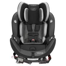 We think they're much better! Everystage All In One Convertible Car Seat
